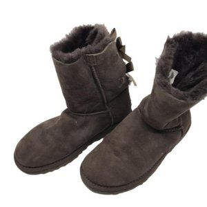 Mid UGG Brown Boots Size: US 5